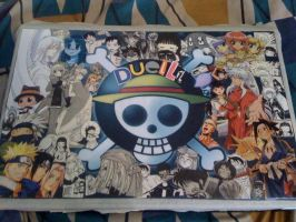 Make your own laptop skin, Otaku style by duelli