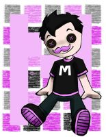 Markiplier 6~ DOLL by wilhelmblack1945