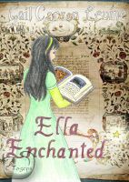 Ella Enchanted book cover by mene
