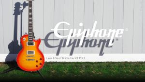 Epiphone Les Paul tribute 2010 by imaGeac