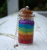 Bottle a Rainbow by mle-anne