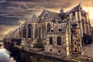 Gent Sunset by elvistudio