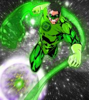 The Green Lantern by WhonOFaKind