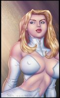 Emma Frost - Colored by StacyRaven