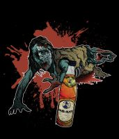 Zombie and Club Mate by Yersey