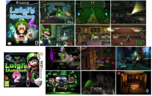 Luigi's Mansion History Comparison by Chaoslink1