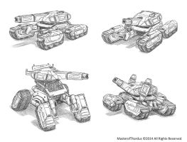 Deimos Variable Geometry Tank by Luneder