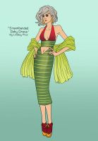 Greenbanded Goby Dress by sketchtastrophe