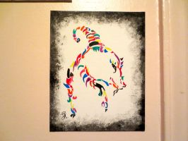 Rainbow Tribal by Tanahachi