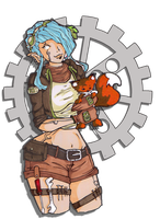 mechanic by LadyAstrogah