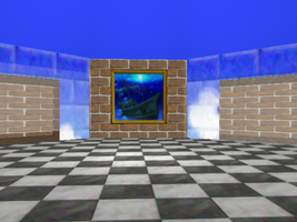 Peach's Castle On Maya 4 by animaniatic