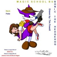 Sonic and MSB Crossover 4 by Timothius