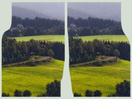 View from Aschberg 3D by zour