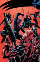 DEADPOOL SUPERIOR SPIDER-MAN TEAM UP 1 Cover Art by TerryDodson