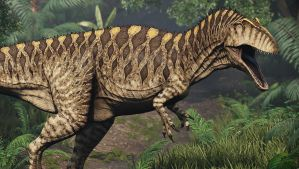 Acrocanthossaurus by Manistyr