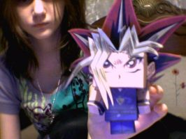 Yugioh paper model by Shakeymuffin