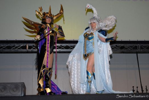 Karura and Kendappa On Stage 2 by Ivycosplay