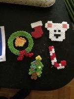 perler chirstmas by wolfyloveanime