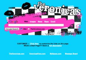 The Veronicas Startpage by AwesomeStart