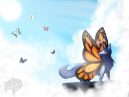 ~Where Butterflies... Never Die~ by xShiro-no-Musumex
