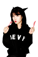 [PNG 53] IU @ Kim Myeong Young's Diet Book by exotic-siro
