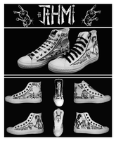 J.T.H.M Custom Shoes by XNeonFeather