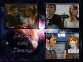 Doctor and Donna 3 by Linkin-Alice