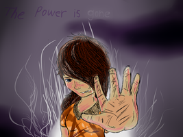 The Power is gone drawing by dreamer-the-wolf-3