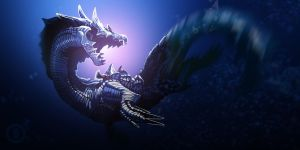 Lagiacrus by Py3rr