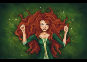 Merida by YurikoSchneide