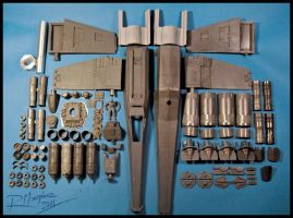 X-Wing Revisited  resin kit by Hikaru84