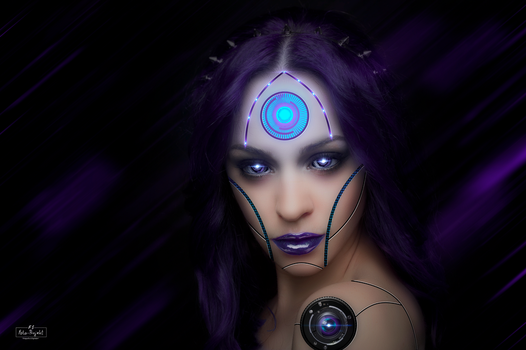 Cybergirl by Emerald2010