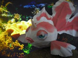 Goldeen papercraft