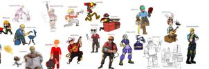 TF2: Engie Mega Collab by SleepDepJoel