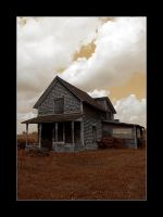 Old House on Route 202 by flashtek