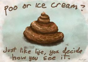 Poo Or Ice Cream by BrianJMurphy