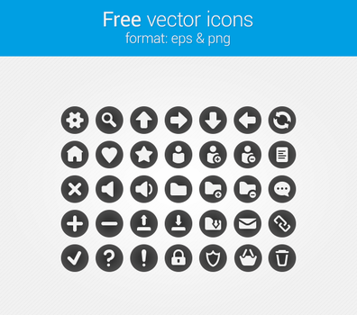 Free vector icons by JasterM