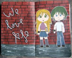 We love life by Sofairy536