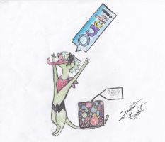 AT: BIG PRESENT colored by DusxDG