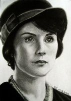 Lady Mary Crawley by Miss-Catherine