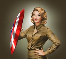 Private Lorraine (Natalie Dormer) Pin-up by kevinkosmo