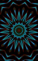 Stained Glass Starburst by FlyingMatthew