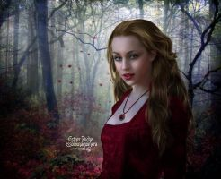 Whispers in the forest by EstherPuche-Art