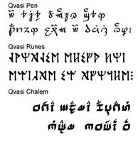 Qvasi Fonts 3pack by qvasi