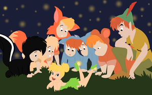 peter pan group by twinlightownz