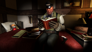 Evening Reading by simsda