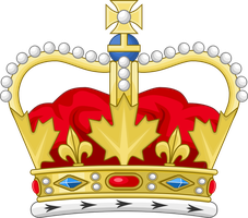 Heraldic crown of Canada by Leoninia