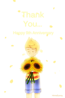 Happy 9th anniversary by HareHime