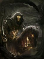 Horseman of the apocalypse - Death by Matchack