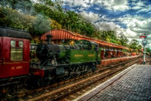 Bewdley station by runwhat
